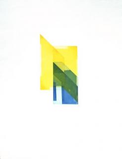 ohne Titel. 2021. Dreiplattenfarbdruck. 76 x 64 cm